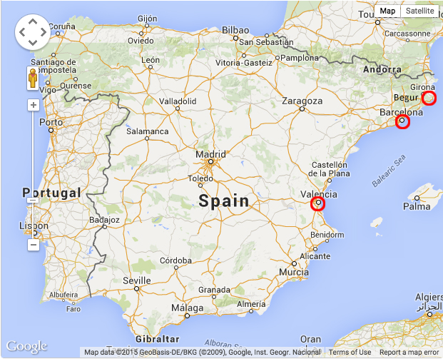 About Begur, Valencia and Barcelona | On the Move